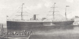 Pacific Mail Steamship Company - the Great Republic